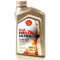 Моторное масло Shell Helix Ultra 0W/40, 1 л, синтетическое 550040758