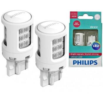Лампа светодиодная W21/5 LED ULR 12V X2 Philips  11066ULRX2