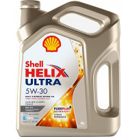 Моторное масло SHELL Helix Ultra ECT 5W-30 4 л. 550042847