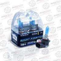 Лампа Avantech NIGHT FIGHTER 9005 (HB3) 12V 65W (120W) 5000K  2шт AB5005