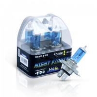 Лампа галогенная AVANTECH Night Fighter H4 12V 55W 5000K AB5004