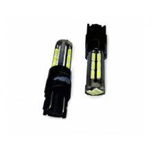 Светодиодная лампа T10 (W2.1x9.5D) CANBUS 27SMD 12-24V A78450S