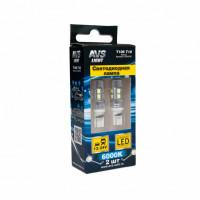 Светодиодная лампа T10 T106 /белый/(W2,1x9,5d) 10 SMD 2835 12-24V, блистер, 2шт.