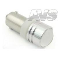 Светодиодная лампа T8 В019 /белый/ (BA9S) 1W T4W, блистер, 2 шт. A80639S