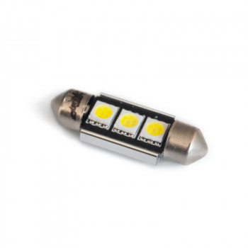 Светодиодная лампа AVS T11 C005 (SV8,5) CANBUS 3SMD5050 36мм 12V A07054S