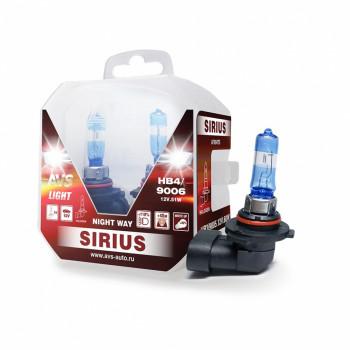 Лампа галогенная AVS SIRIUS NIGHT WAY HB4/9006 12V 55W A78948S