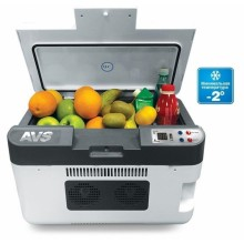 Автохолодильник (12V/24V/220V) (24 литра) AVS CC-24WBC  охлаждает до -2°C