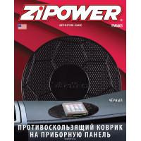 Противоскользящий коврик на приборную панель, черный мяч PM6603