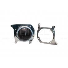 Переходные рамки BMW X5 E70 2006-2013 г.в. для установки Hella 3R, 5R в секцию дальнего света