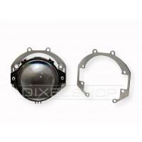 Переходные рамки Daewoo Nexia II N150 2008 - н. в. Под линзы DIXEL GTR BI-LED 3.0