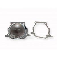 Переходные рамки Hyundai Solaris 2014 - н.в. Под линзы Hella 3R,5R