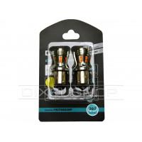 Светодиодная лампа DIXEL P21W (BA15S) 16 SMD 2835 Желтый