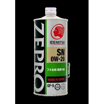 Масло моторное IDEMITSU ZEPRO ECO MEDALIST  1л.  0W-20 SN/GF-5