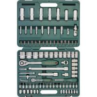 """Набор инструмента JONNESWAY универсальный 1/4""""DR 4-14 мм и 1/2""""DR 10-32 мм, 94 предмета, S04H52494S"""