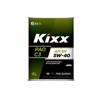 Масло моторное KIXX PAO C3 5W-40 SN ACEA: A3/B4,C3 4л синтетическое L209244TE1