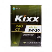 Масло моторное KIXX PAO C3 5W-30 SN/CF ACEA: A3/B4, C3 4л синтетическое L209244TE1
