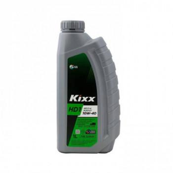 Масло моторное KIXX HD1 10W-40 CI-4/SL ACEA:E7-12  1л дизельное полусинтетическое L2061AL1E1
