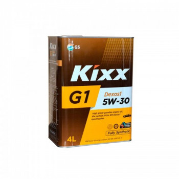 Масло моторное KIXX G1 Dexos1 5W-30 SN GF-5 4л синтетическое L530544TE1
