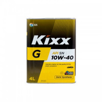 Масло моторное KIXX G PLUS 10W-40 SN 4л полусинтетическое L210944TR1