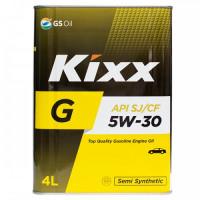Масло моторное Kixx G (Gold) 5W-30 SJ/CF 4л полусинтетическое L531744TE1
