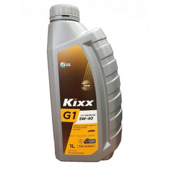 Масло моторное KIXX G1 SN Plus 5W-40 1л синтетическое L2102AL1E1