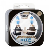 Комплект галогенных ламп MTF Light 9012 HIR2 Argentum +80%