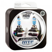 Комплект галогенных ламп MTF Light HB4(9006) Argentum +80%