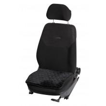 Накидка (подушка) из искусственного меха на сиденье, черная с коротким ворсом, 1 шт. AFC-A-02