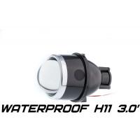 Универсальная биксеноновая Противотуманная фара Optimа Waterproof Lens 3.0'