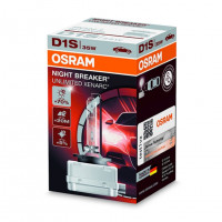 Лампа ксеноновая Osram Night Breaker Unlimited +70% D1S 85V 35W PK32d-2 66140XNB