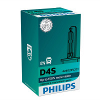 Ксеноновая лампа Philips D4S Xenon X-treme Vision gen2 150% 42402XV2C1