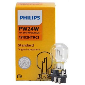 Лампа накаливания Philips PW24W Standard Vision - 12182HTRC1