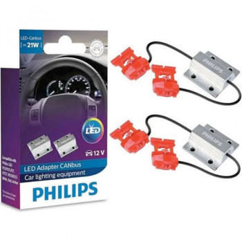 Обманка для светодиодных автомобильных ламп LED Canbus Philips CEAY 12V 21W, 2шт 18957X2