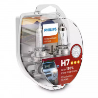 Лампа PHILIPS X-tremeVision G-force H7 12V 55W 12972XVGS2