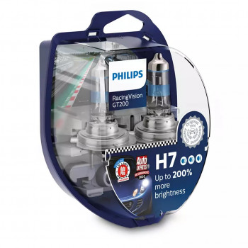 Лампа PHILIPS RacingVision GT200 H7 12V 55W 12972RGTS2
