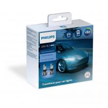 Комплект ламп головного света PHILIPS Ultinon Essential LED H4 11342UE2X2