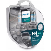 Лампа PHILIPS X-tremeVision Pro150 H4 12V 60/55W 12342XVPS2