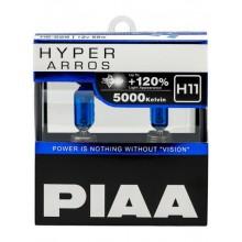 Галогеновые лампы PIAA Н11 HYPER ARROS (5000K) HE-926