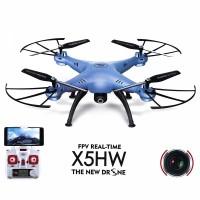 Квадрокоптер с камерой FPV SYMA X5HW с барометром, переворот на 360, 2.4G