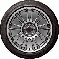 Чехол запасного колеса R16,17 диаметр 77см SKYWAY полиэстер S06301054
