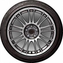 Чехол запасного колеса R15 диаметр 67см SKYWAY полиэстер S06301055