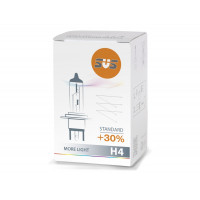 Лампа галогенная SVS H4 60/55W Standard +30%  0200007000