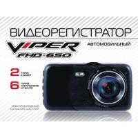 Видеорегистратор VIPER FHD-650 + камера заднего вида