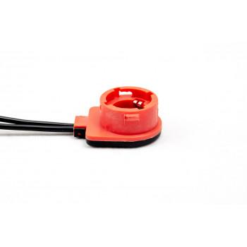 Адаптер D2S (10см) (от блока к лампе) мини красная шляпка влагозащищенный 1шт