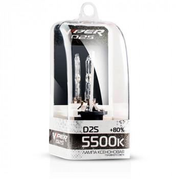 Ксеноновая лампа D2S VIPER +80% 5500K