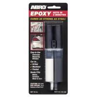 Клей ABRO эпоксидный высокопрочный в шприце (черный) EG-330