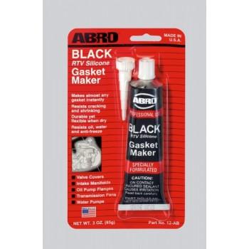 Герметик прокладок  Черный ABRO 12ABR