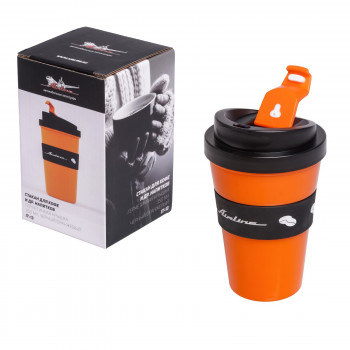 Стакан для кофе и других напитков, герметичная крышка, 350 мл Airline IT-13