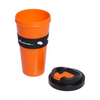 Стакан для кофе и других напитков, герметичная крышка, 430 мл Airline IT-14