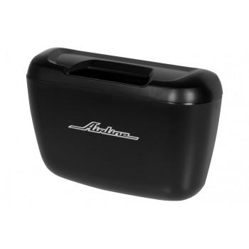 Ведёрко для мусора на дверной карман, черное ABT-DP-02